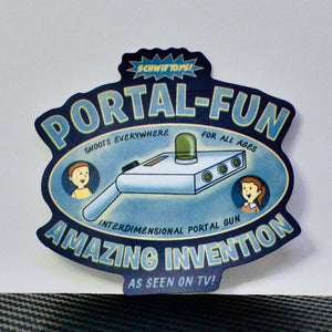 Where Will You Go? Portal-Fun!