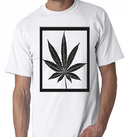 Weed In Frame Picture Joint  Bong Weed Pot GraphicT-Shirt