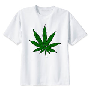 weed 2018 Men Fitness Bodybuilding t shirt Printed cotton