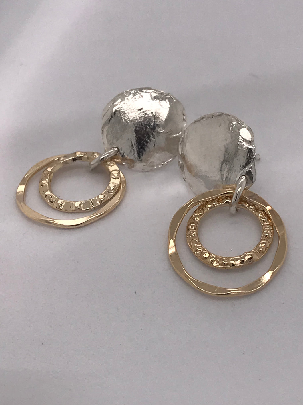 Sterling silver gold filled earrings