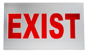 'EXIST' sign.