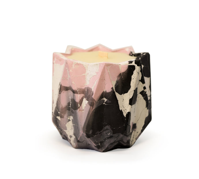 Beeswax Concrete Candle