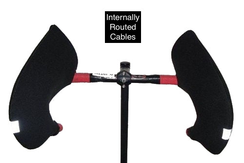 Road Bike - Internally Routed Cables - Drop Handlebars