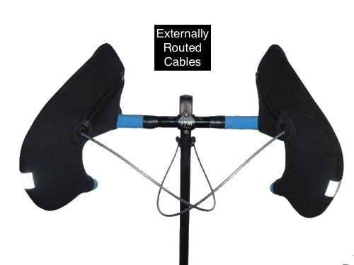 Road Bike - Externally Routed Cables - Drop Handlebars