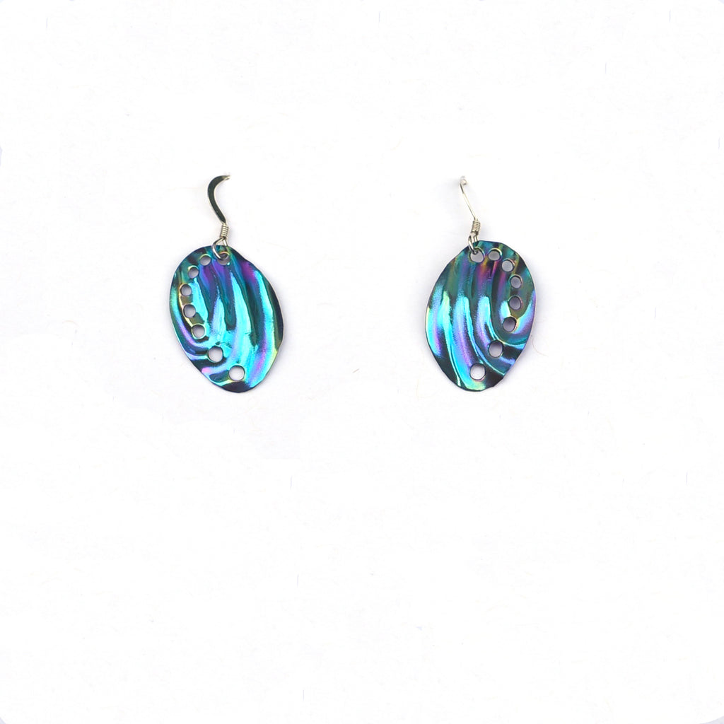 Baby Abalone Earrings