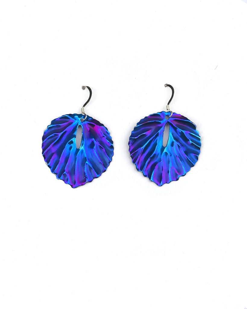 Anthurium Earrings (5 Colors)