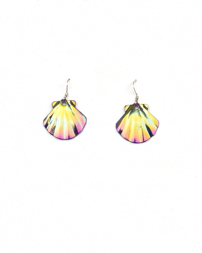 Sunrise Scallop Earrings