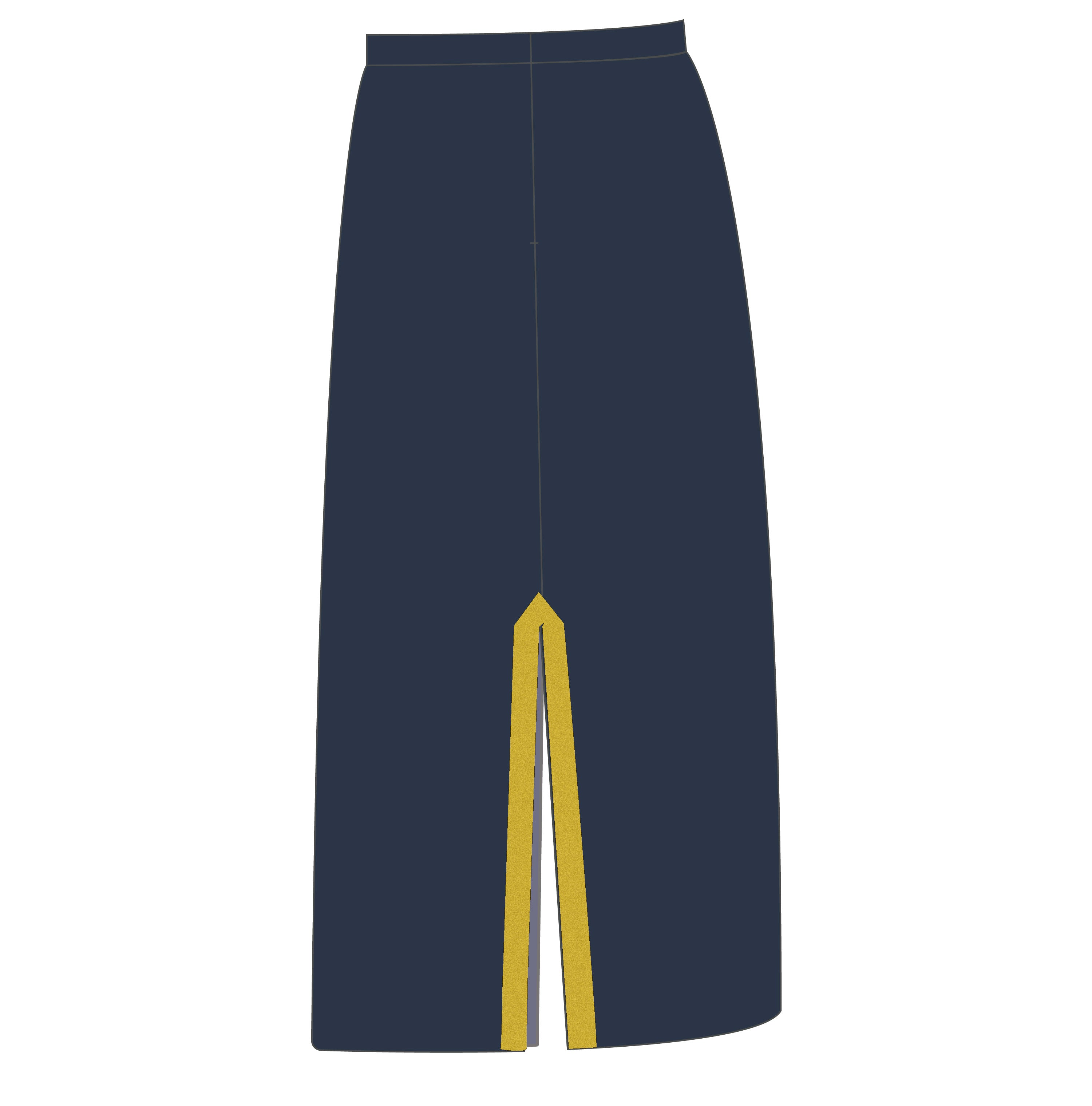 NO. 2 MESS STANDARD:  AIR FORCE - SKIRT - FEMALE