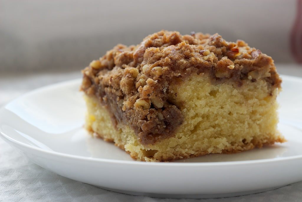 Gluten and Dairy Free Apple Jack Coffee Cake