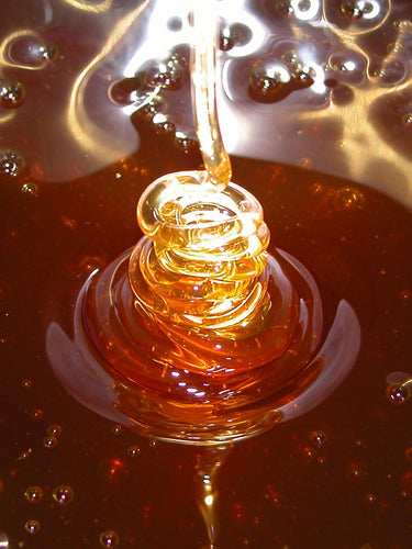 3lb Glass Jar Dancing Bee Raw Unfiltered Local Honey