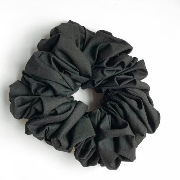Polyester Cotton Scrunchies- Large