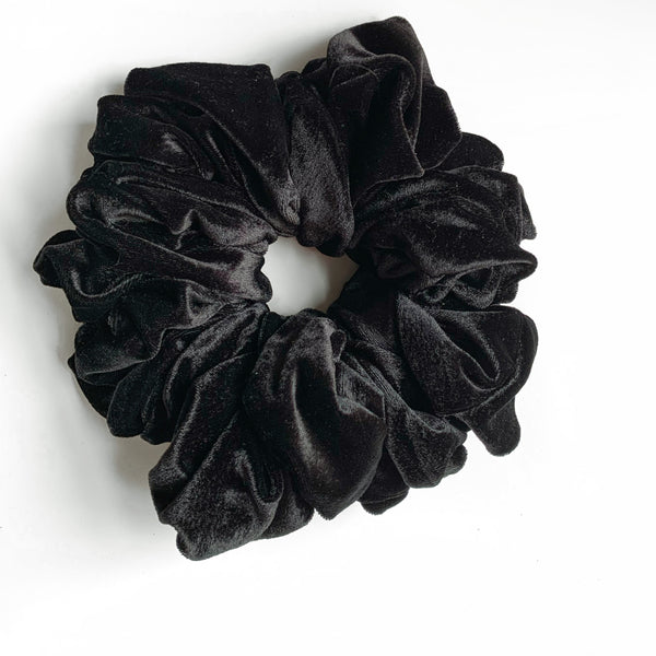 Soft Velvet Scrunchies-Large