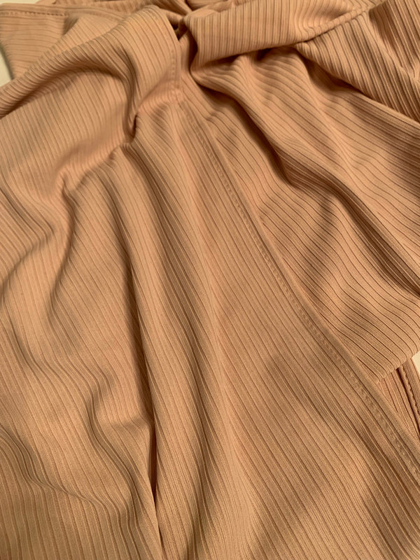 Sepia Ribbed Jersey