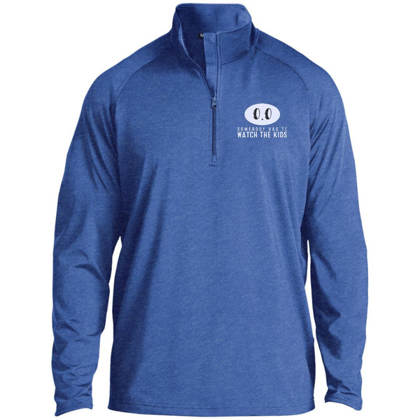 0.0 Someone Has To Watch The Kids Sport-Tek 1/2 Zip Raglan Performance Pullover