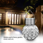 Solar Powered LED Crystal Ball - Futurehomegroup