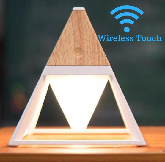 Wireless Triangle Night Lamp - Futurehomegroup