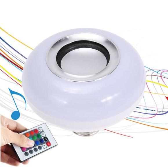 Smart Light E27 RG Bluetooth Bulb Speaker - Futurehomegroup