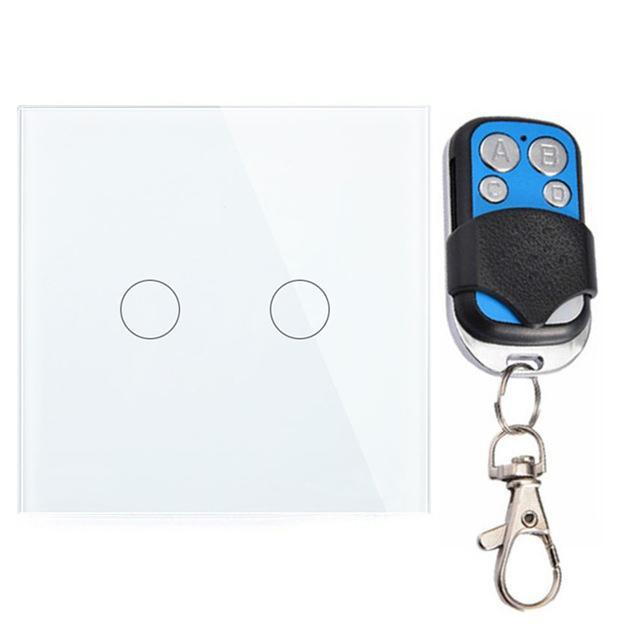 Crystal Glass Switch + Remote Control - Futurehomegroup