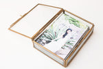 Luxe Glass Box With Prints