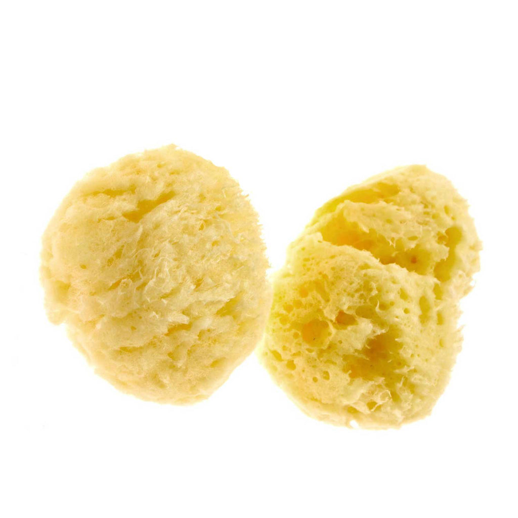 Set of 2 All Natural Yellow Sea Sponges
