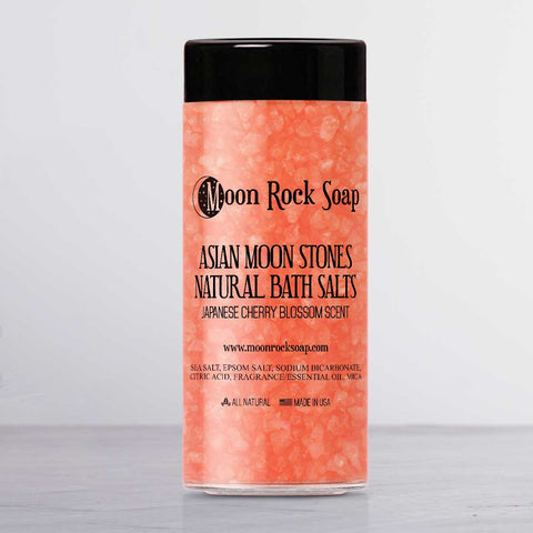 Asian Moon Stones Natural Bath Salts