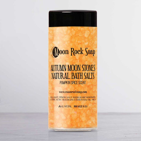 Autumn Moon Stones Natural Bath Salts