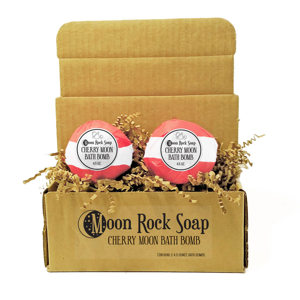 Cherry Moon Bath Bomb