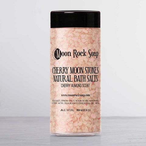 Cherry Moon Stones Natural Bath Salts