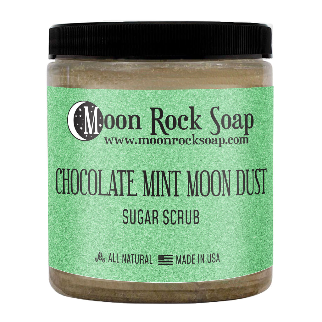 Chocolate Mint Moon Dust Sugar Scrub