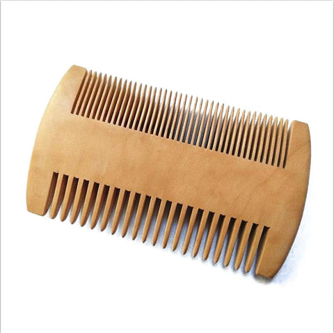Moon Rock Beard Wooden Beard Comb