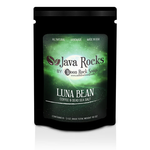 Java Rocks: Luna Bean Coffee Scrub