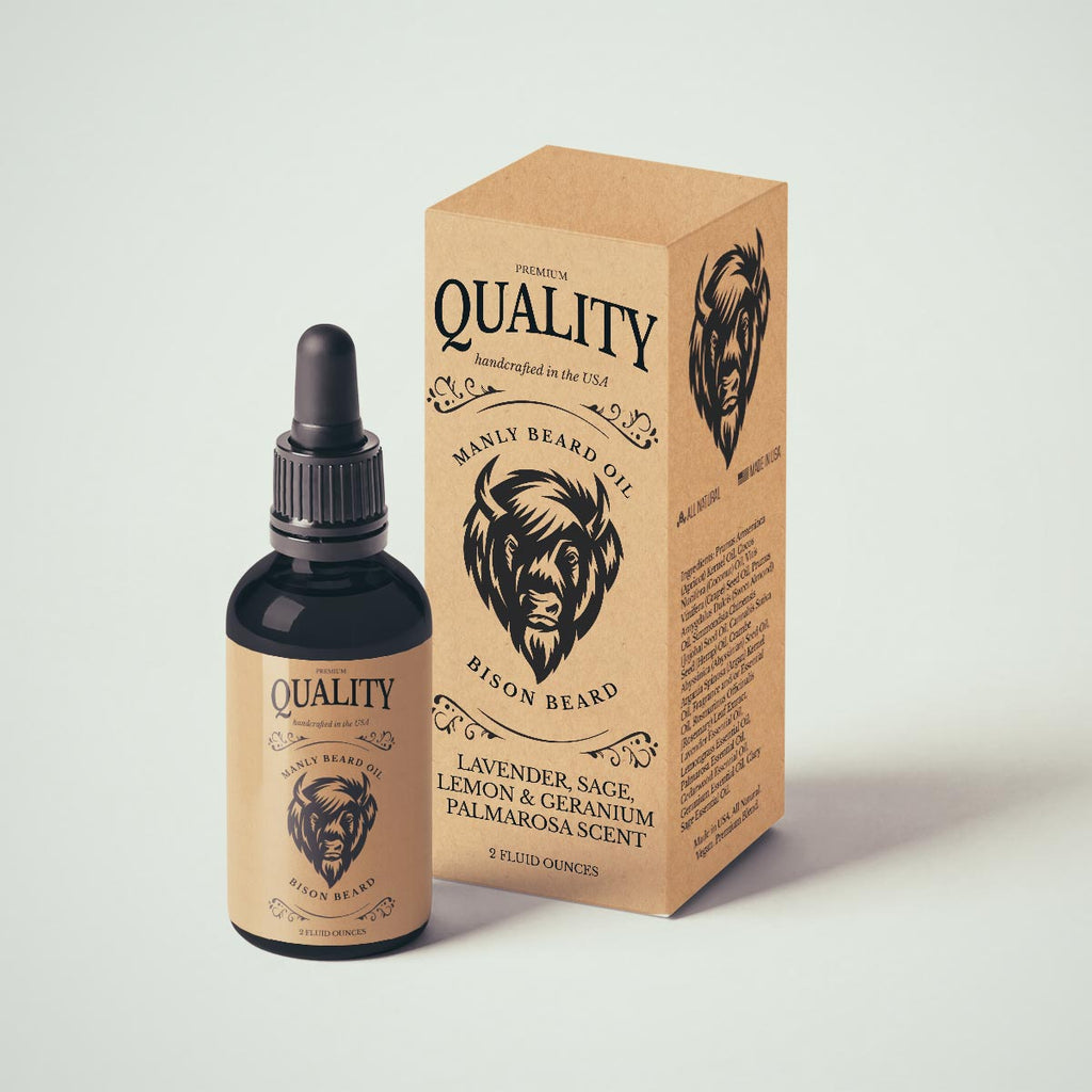 Manly Beard Oil