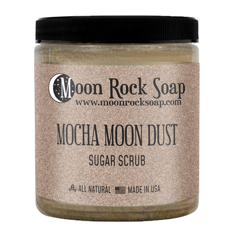 Mocha Java Moon Dust Sugar Scrub