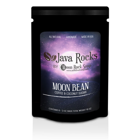 Java Rocks: Moon Bean Coffee Scrub