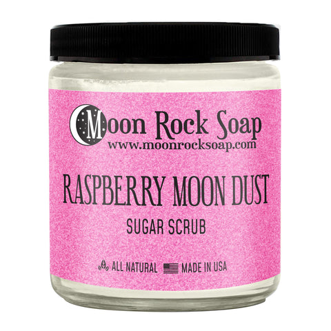 Raspberry Moon Dust Sugar Scrub
