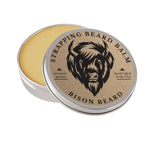Strapping Bison Beard Balm