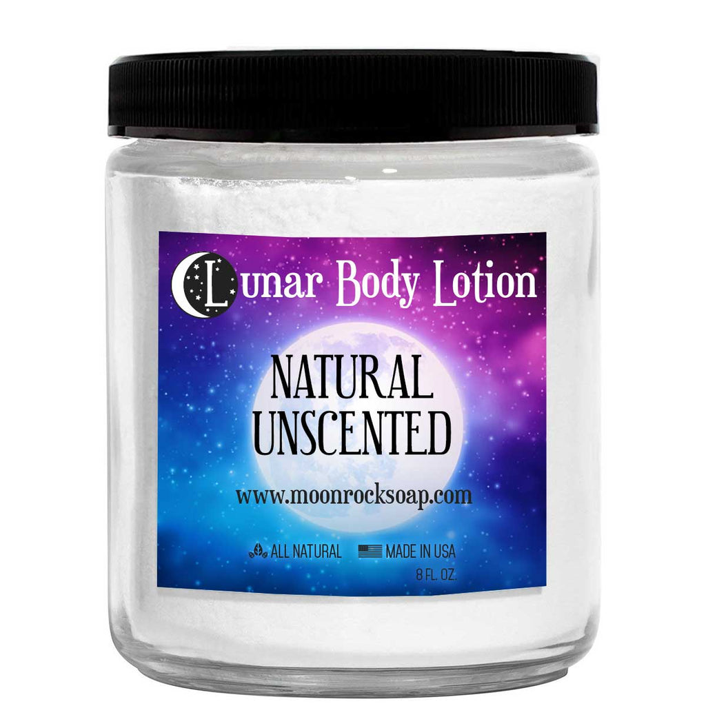 Natural Unscented Lunar Body Lotion