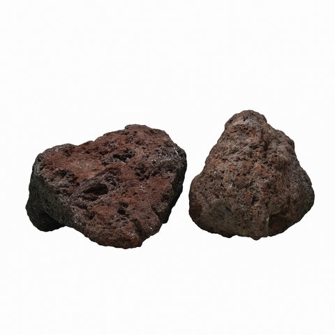 1 KG Volcanic Lava Red/Black Rock - nepalaquastudio
