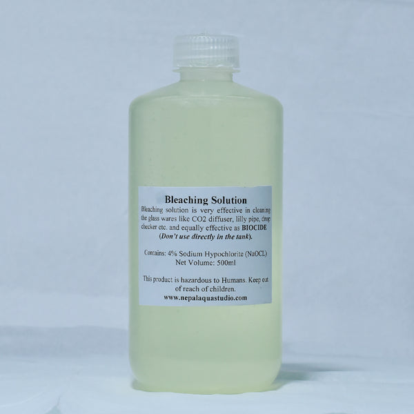 Bleaching Solution 500ml (Chlorine-based bleach) - nepalaquastudio