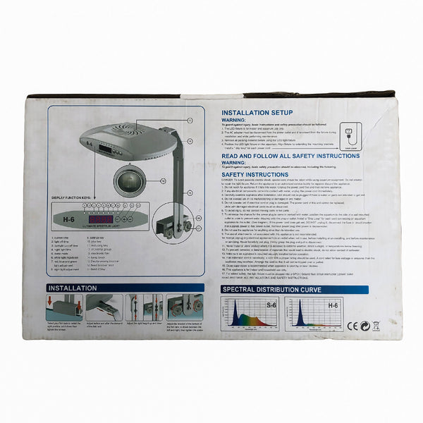 Deebow Professional Aquarium Light (S-6) - nepalaquastudio