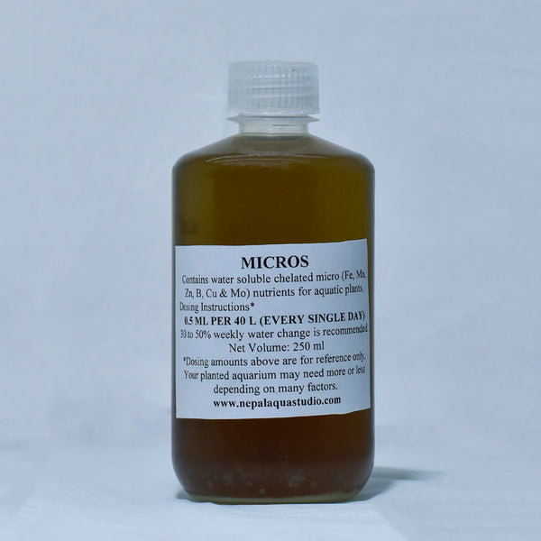 Micro Fertilizer (250ml) - nepalaquastudio