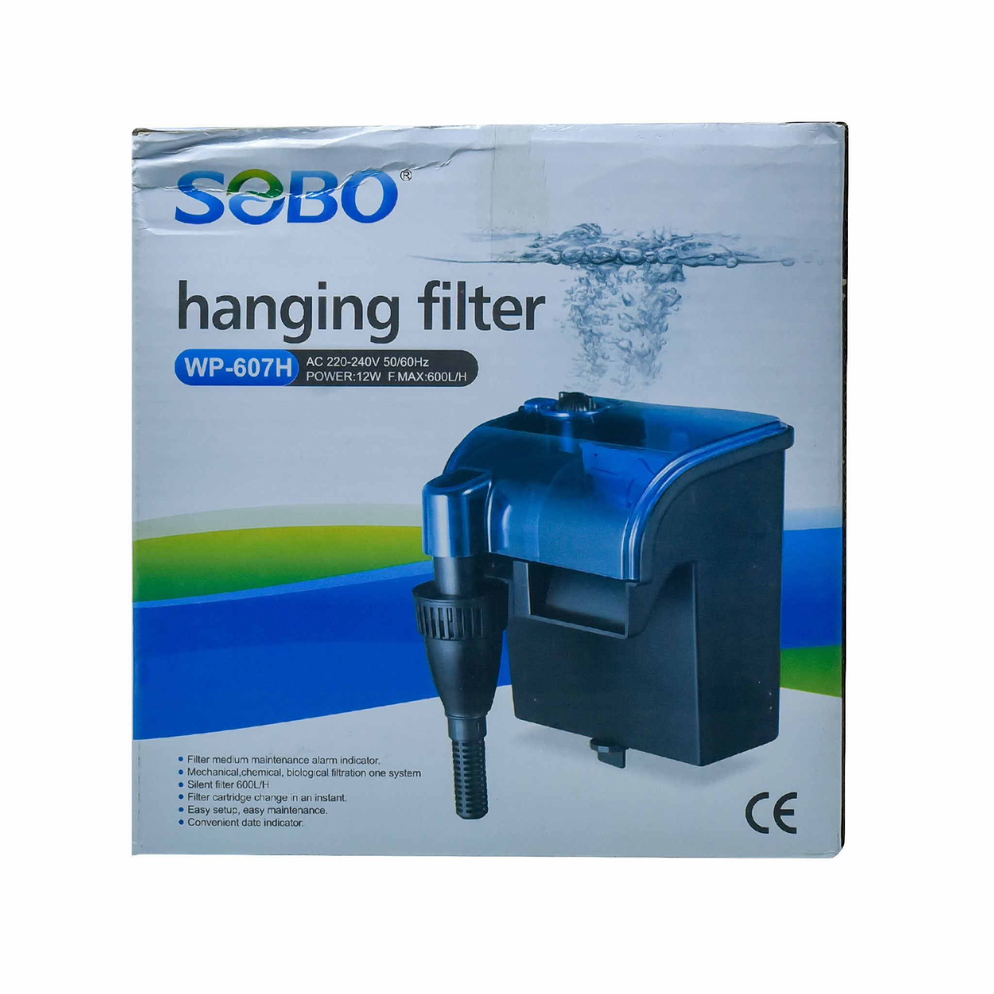 SOBO WP -607H Hanging Filter - nepalaquastudio