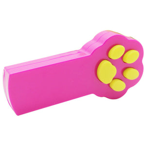 Funny Pet Cat Toys Kitten Paw Style LED Laser Pointer Exercise Toy Beam Interactive Cat Dog Amusement Toy Cat Favoriate Toys 35