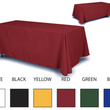 SOLID COLOR TABLE THROWS