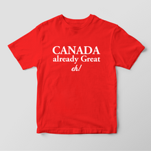 Make Canada Great eh! Tee - teeheehee tees Fun T-shirts for everyone.