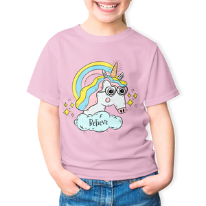 Kids Unicorn T-shirt - teeheehee tees Fun T-shirts for everyone.