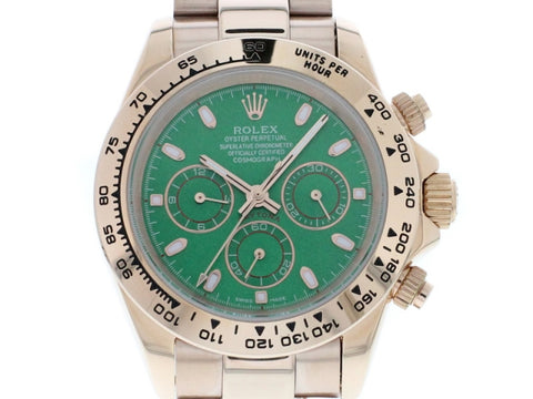 ROLEX DAYTONA 2016 RACING GREEN DIAL