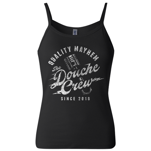 The Douche Crew Ladies Spaghetti Strap Tank