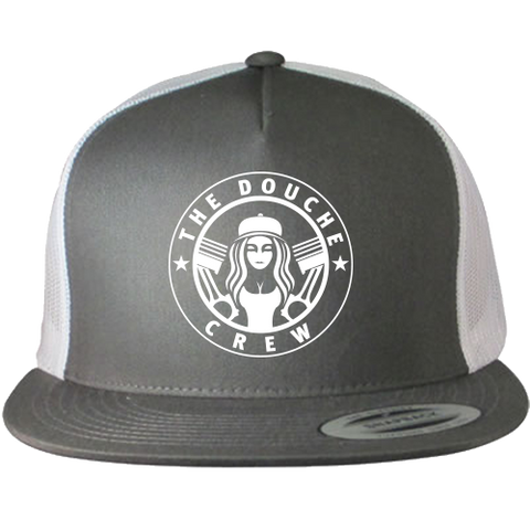 The Douche Crew Crest Trucker Hat - Charcoal