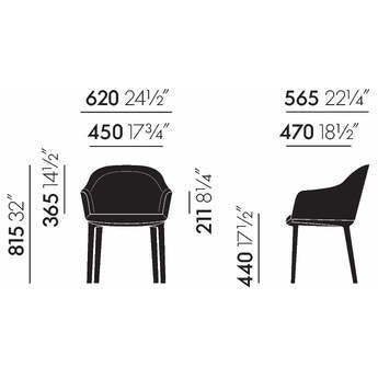 Vitra<br><b> Softshell Chair</br></b>